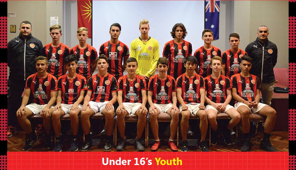 Under 16 Youth