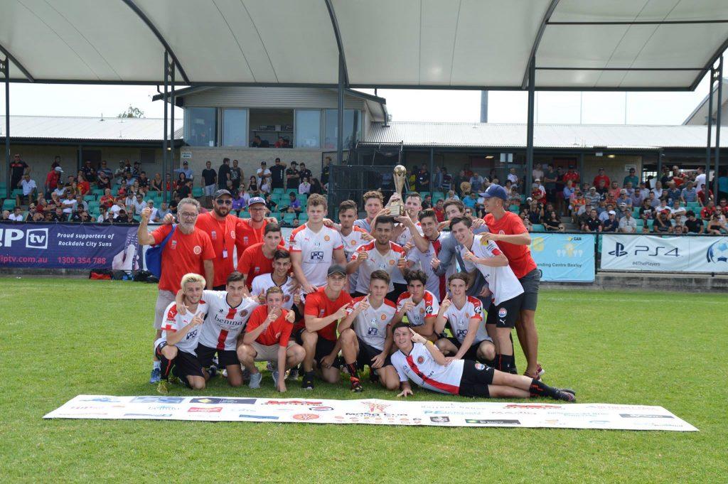 RCSFC Under 19's Squad - Champions