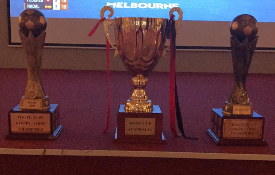 Under 19's Youth Trophy, Maso Cup & Over 35's Trophy