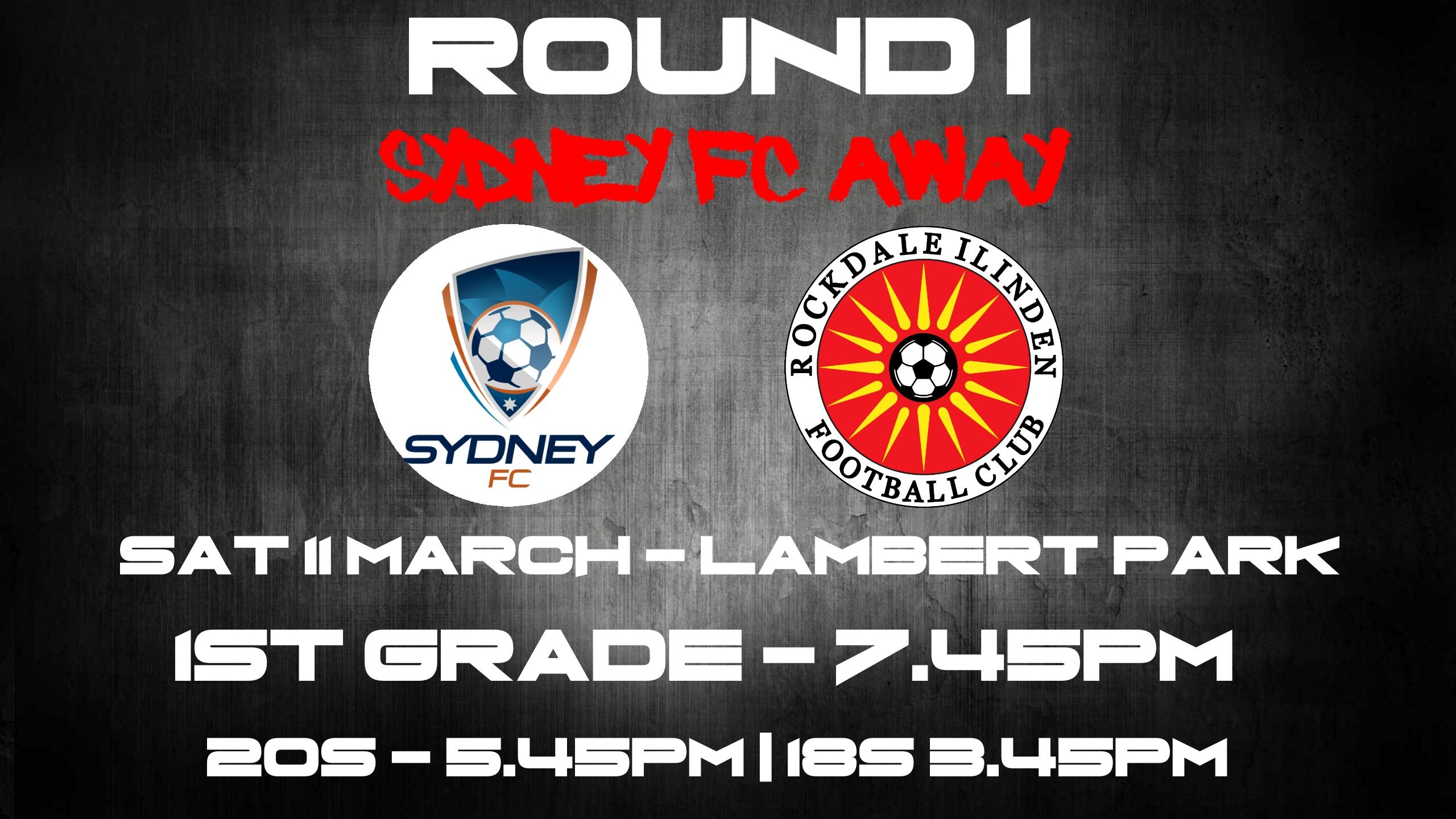 Round 1 SFC away