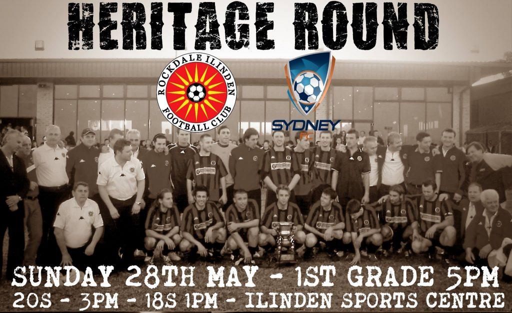 RCSFC v Sydney - heritage round